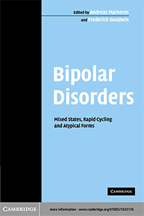 Bipolar Disorders. Mixed States, Rapid-Cycling, and Atypical Forms